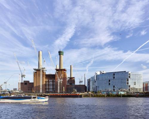 London's Battersea Power Station prepares for major launch