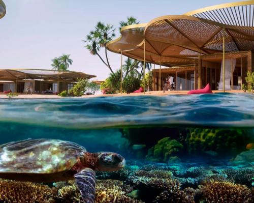 Shurayrah's coral-inspired resorts will underpin the bulk of the 16 hotels in the project's first phase, due for completion in 2023