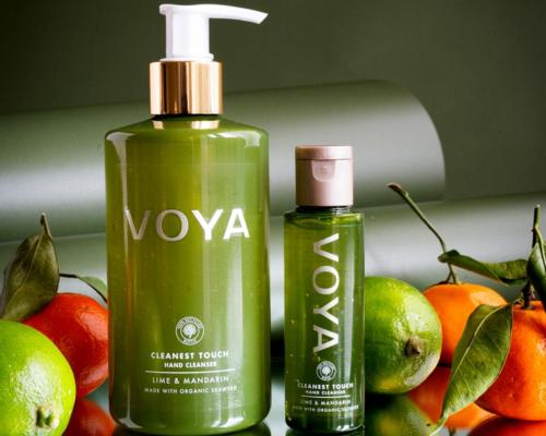 Clean, green, beauty machine: Voya unveils seaweed-infused hand cleanser