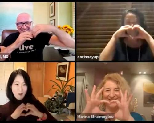Heartfelt messages from spa industry 'flourishing in adversity' panel @MEfraimoglou #DrDanielFriedland #CorinnaYap #OpheliaYeung @Global_GWI @WellnessCancer @MindBodySpiritN @WSpaWellness