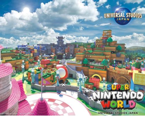 Universal Japan's Super Nintendo World theme park to open in March