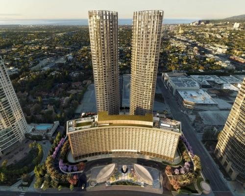 Iconic LA hotel receives US$2.5bn makeover including brand new 14,000sq ft spa