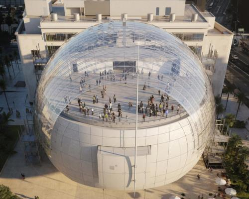 The Renzo Piano-designed museum will open to the public for the first time on 30 September 2021 / Academy Museum of Motion Pictures