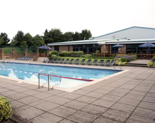David Lloyd will utilise its outdoor spaces –such as the ones at its Birmingham club (pictured) –to offer members a range of activities / David Lloyd Clubs