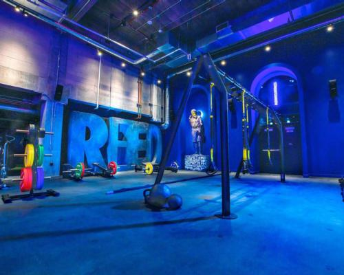The 33,000sq ft, high-end club combines functional design with a club-like atmosphere / John Reed/RSG Group