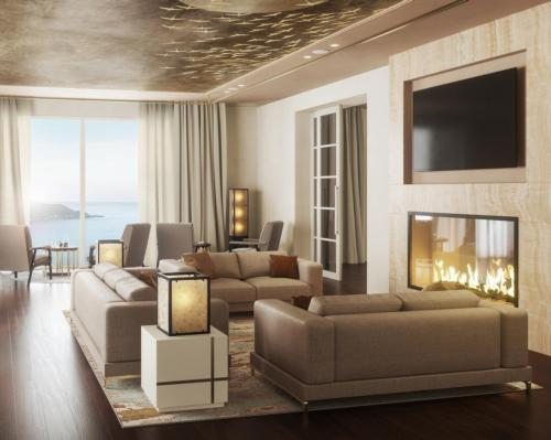 Suites have been restyled with lighter shades and furnishings made from natural local materials