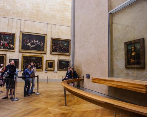 Despite a 72 per cent fall in visit numbers in 2020, The Louvre in Paris remained the world's most visited museum