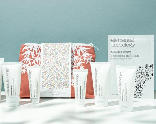 The new kits contain a refreshing selection of Elemental Herbology's body, haircare and skincare products