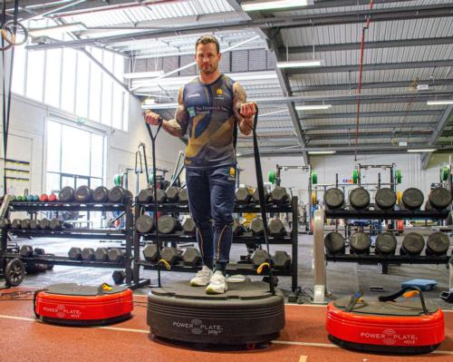 Warriors announce new official supplier agreement with Power Plate UK