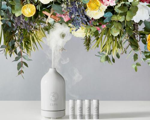 Espa introduces aromatic diffuser with soothing essential oil collection to nurture wellbeing