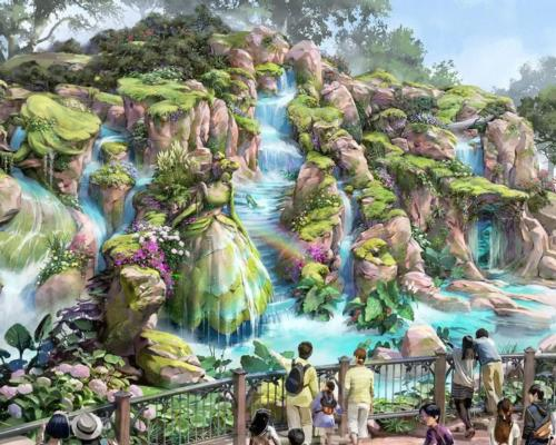 Fantasy Springs will be the eighth themed port in Tokyo DisneySea