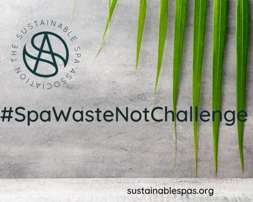 The #SpaWasteNotChallenge initiative will be live until the end of July 2021