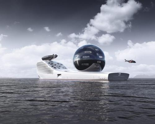 Superyacht, Earth 300, to launch in 2025 on a journey to save planet earth