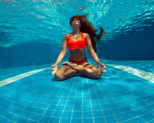 The study looked at the effects of swimming pool water on SARS-CoV-2