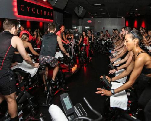 Xponential's portfolio of franchised boutique fitness brands include CycleBar / Xponential Fitness