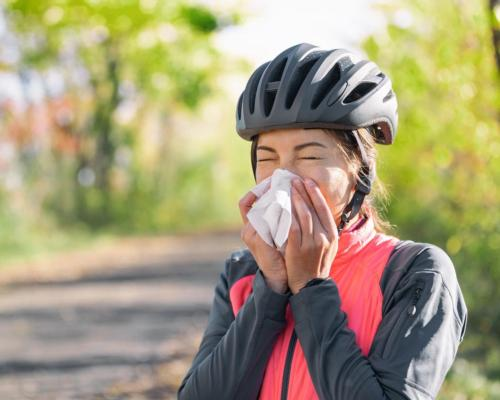 Many people take antihistamines prior to exercising outdoors