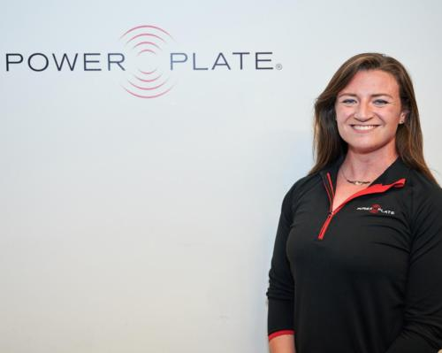 Kate Wilkinson, retail manager at Power Plate