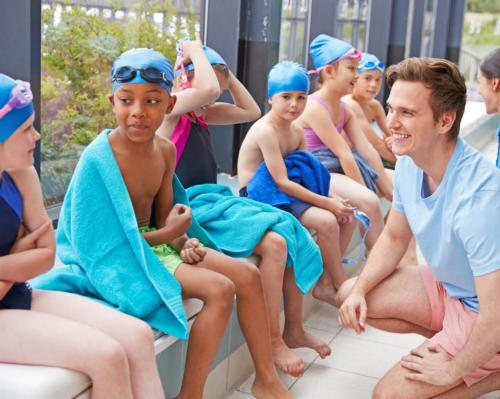 Swimming teachers offered new resources to help develop mindfulness in children