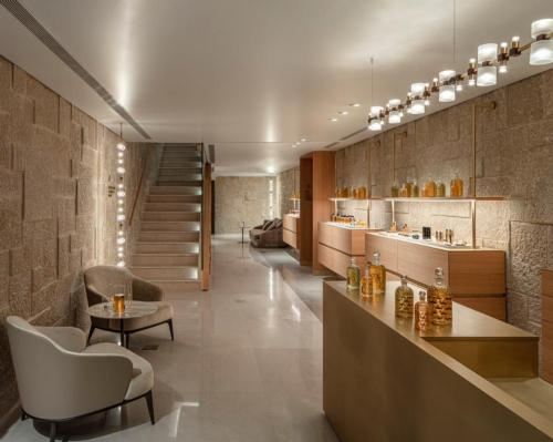 This latest spa marks Guerlain's fifth spa in partnership with Waldorf Astoria / Waldorf Astoria Jerusalem