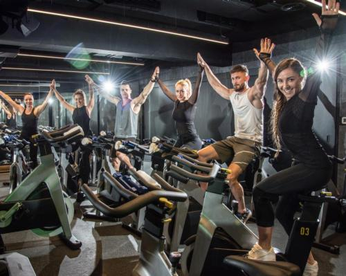 Group exercise classes return to health clubs in England and Scotland