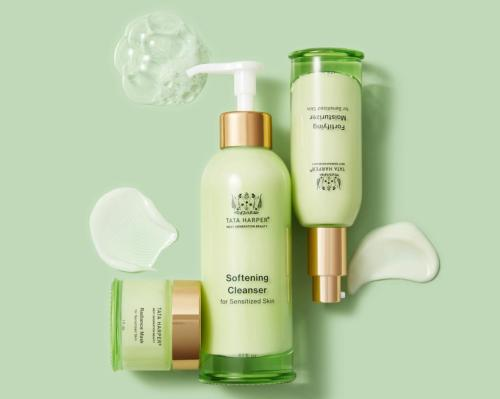 The hypoallergenic line features a three-piece routine including a cleanser, mask and moisturiser