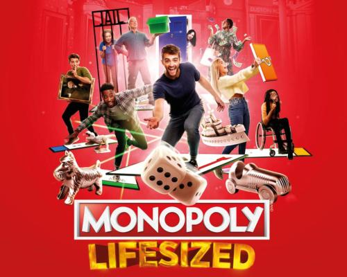 Monopoly Lifesized will consist of a 75-minute gameplay segment on a 15 x 15m board / Hasbro/Selladoor Worldwide/Gamepath