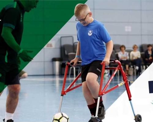 The campaign will encourage preparation for a return to the court or pitch for players