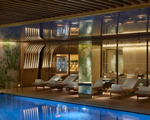 The wellness space has been specifically created to bring a sense of the outside in