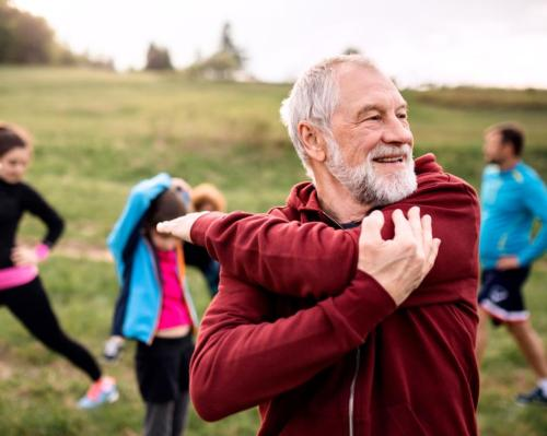 The study looked at how exercise affected more than 18,000 middle-aged and older men and women / Shutterstock/Halfpoint