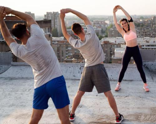 The majority of fitness studios have been training members outdoors