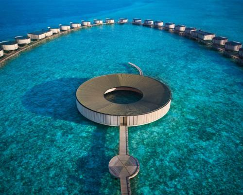 Ritz-Carlton Maldives opens with luxury overwater spa sanctuary designed by Kerry Hill Architects