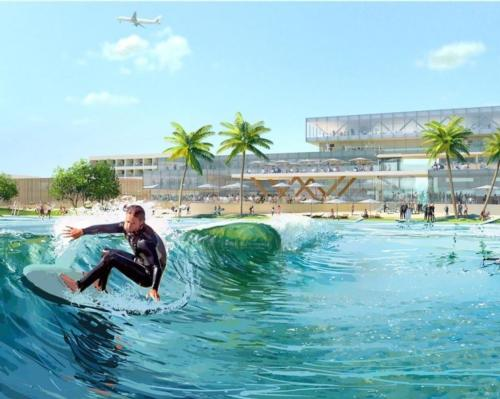 Surftown MUC will be located close to Munich's international airport