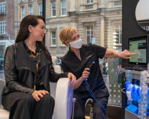 HydraFacial is hosting a pop-up store in London at Sofitel London St James' spa through the month of June