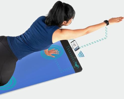 YogiFi, 'world's first' smart yogamat uses AI