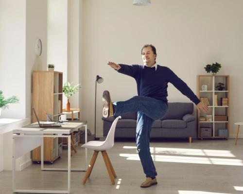 30 minutes of daily exercise 'not enough' for those who spend days sitting down