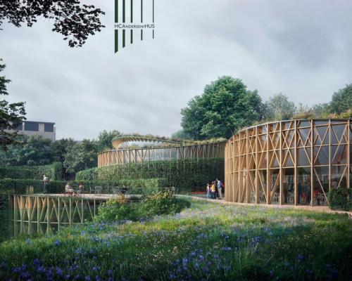 Kengo Kuma-designed Hans Christian Andersen House opens in city of Odense