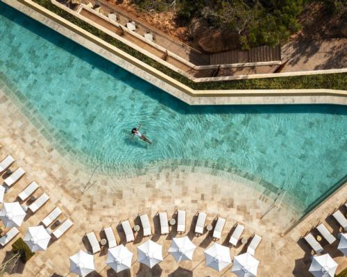 Six Senses Ibiza is set into cliff to the north of the island / Six Senses