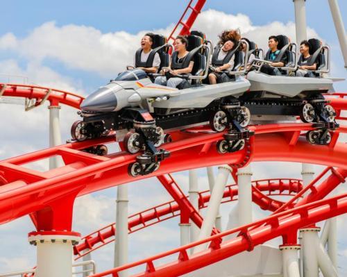 New glorious orient theme park showcases Vekoma's fighter jet coaster
