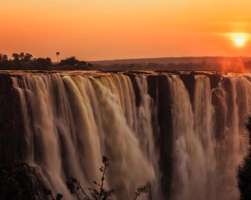The Royal Livingstone Hotel by Anantara is just steps away from Victoria Falls which is one of the seven natural wonders of the world