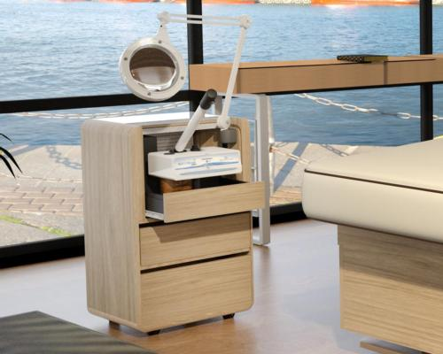 Introducing Living Earth Crafts' dynamic all-in-one esthetics workstation