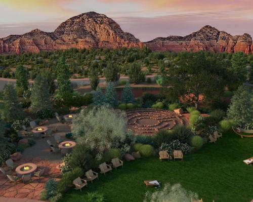 The resort will make the most of its striking desert setting with plenty of outdoor relaxation space and meeting spaces