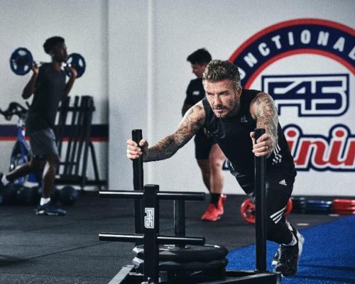 David Beckham named global partner of F45 Training