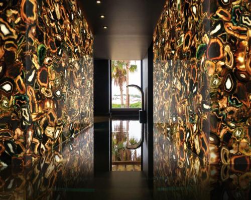 Fabio Alemanno Design uses elegant semi-precious stones to create memorable spa experiences