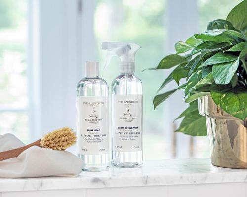 Home-care meets self-care as Aromatherapy Associates partners with The Laundress
