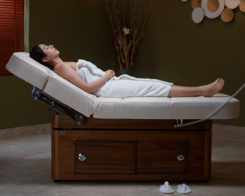Introducing Esthetica's multi-function, fully adjustable spa treatment table