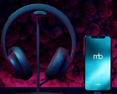 The app offers short, restorative sessions using the 3D audio technology