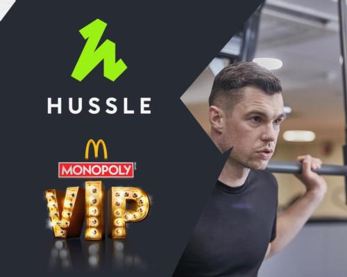 Winners of McDonald's Monopoly promotion will be given a code to enter into Hussle's website / Hussle