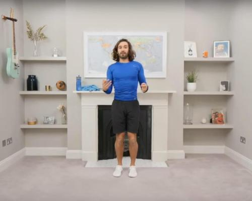 Joe Wicks –whose 'PE with Joe' inspired the fitness industry during lockdown –is supporting the CIMSPA/Google initiative with a webinar / Joe Wicks/YouTube