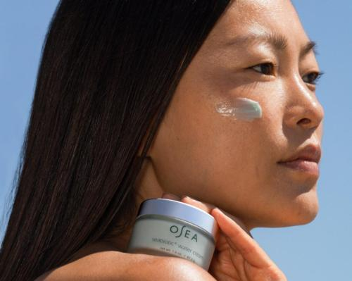 Introducing Osea's new Seabiotic Water Cream powered by seaweed and active botanicals