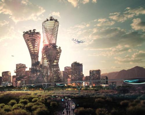 Bjarke Ingels and Marc Lore reveal plans for Telosa, 'world's most sustainable city'
